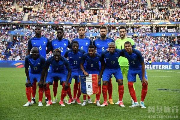 法国队在2018世界杯夺冠后实力一直都在