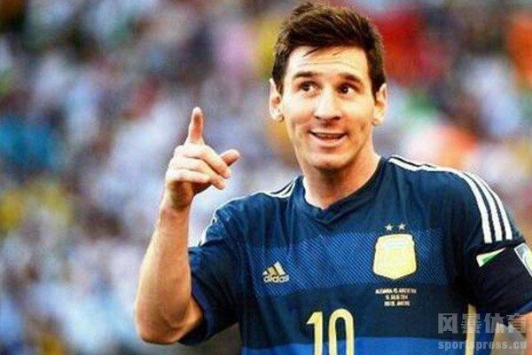 梅西的助力让阿根廷队更加强大