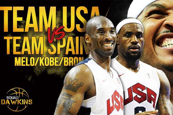 2012伦敦奥运会美国vs西班牙 2012年美国队vs西班牙