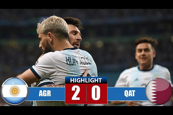 阿根廷队2比0击败卡塔尔!盘点全场精彩集锦!