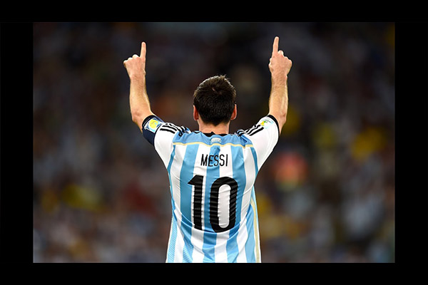 <b>阿根廷队当之无愧的10号!盘点梅西国家队的精彩表现!</b>