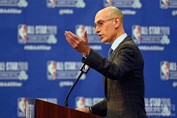 现任NBA总裁肖华