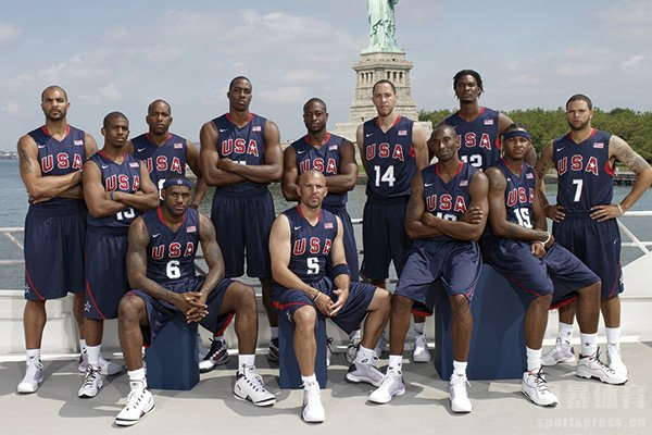 美国梦八队阵容盘点 科比詹姆斯领衔奥运会轻松夺冠