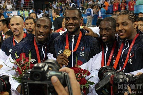 梦八队奥运会夺冠