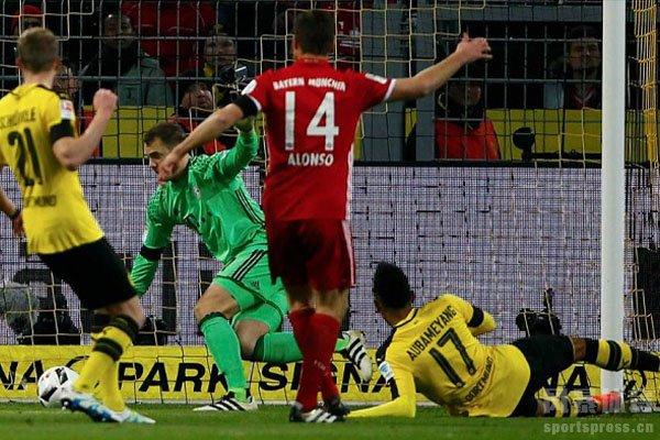 多特蒙德与拜仁的交锋一直是德甲最激烈的