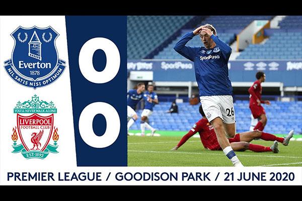 利物浦0比0战平埃弗顿!利物浦初战失败!