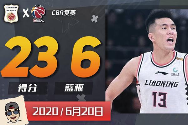 郭艾伦23分6篮板4助攻集锦 郭艾伦复赛首场比赛视频