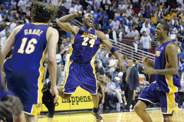 湖人夺冠视频 2009年湖人击败魔术夺冠