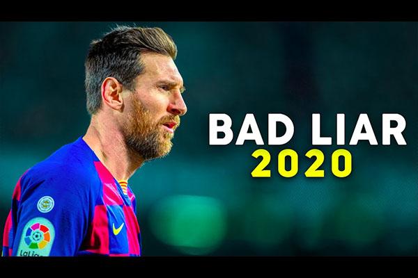 梅西2020仍然是巅峰的一年!盘点全场精彩表现!