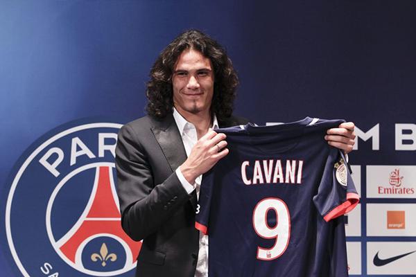 卡瓦尼没能成功与大巴黎签合同 大巴黎对此很失望