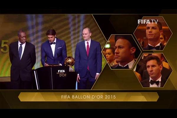 <b>每一个金球奖都对梅西有着重要意义!盘点梅西获奖的一刹那!</b>