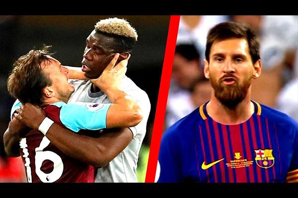 <b>梅西领衔球场的激烈冲突!盘点这些足球界的恶人!</b>