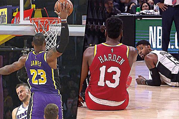NBA爆笑失误集锦 NBA篮球搞笑视频集锦高清
