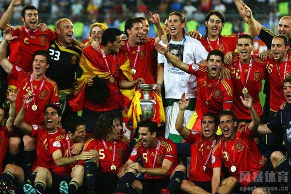 2008欧洲杯视频 西班牙击败德国夺冠