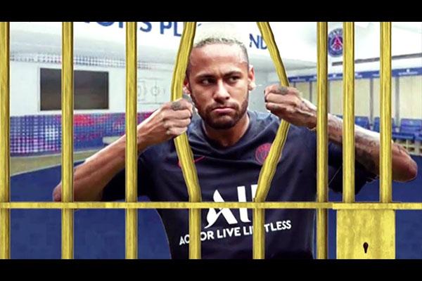 内马尔十分想回到巴萨!目前的内马尔仍然被锁在大巴黎!