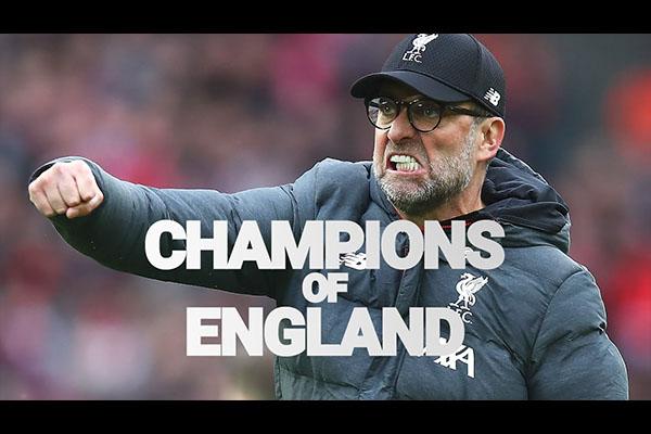 <b>利物浦获得英超冠军!三十年的辛酸等待终是值得!</b>