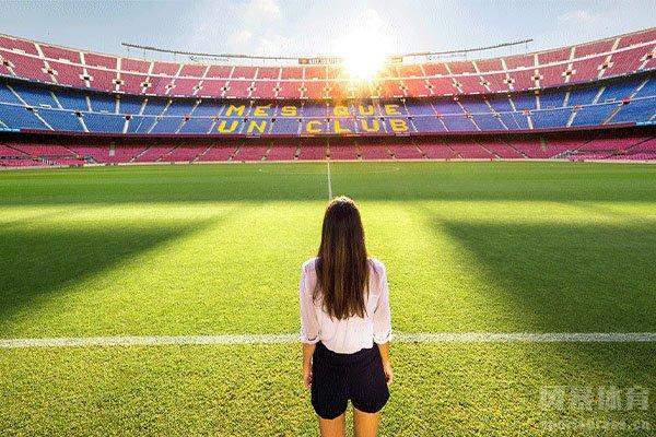 诺坎普球场更是欧洲第一大球场