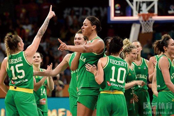 澳大利亚女篮队员