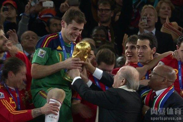 2010世界杯冠军是西班牙