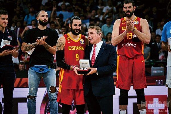 卢比奥获得篮球世界杯MVP
