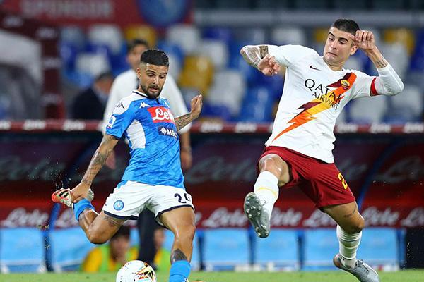 那不勒斯在刚刚结束的意甲联赛2比1击败罗马,获得宝贵的3分