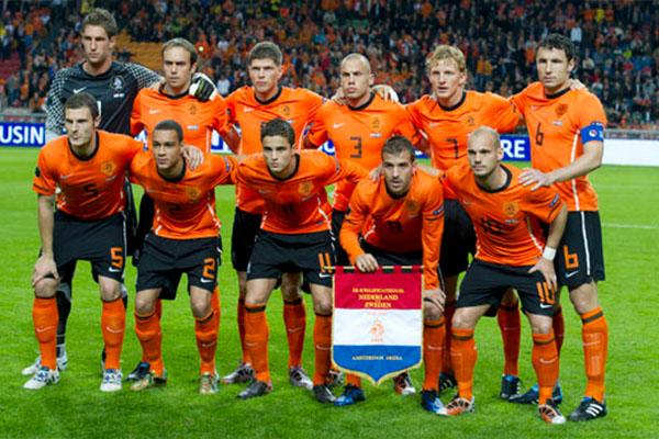 荷兰队阵容