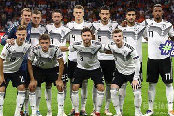 德国队整体阵容实力强大