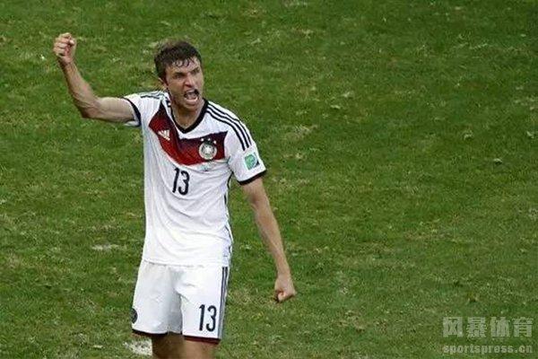 但德国队最强的13号仍然是穆勒