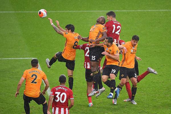 谢菲尔德联1比0击败狼队 狼队彻底脱离英超欧冠区