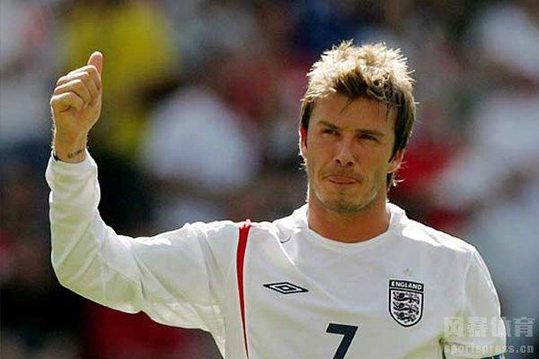 但英格兰最有名的队长还属贝克汉姆