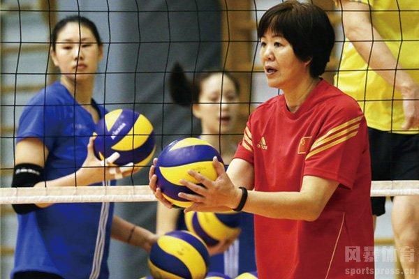 郎平执教中国女排