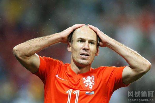 2012年拜仁三亚王罗本失去了两个决赛点球