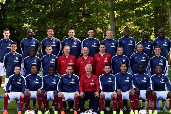 法国队的阵容十分强大,堪称全明星阵容