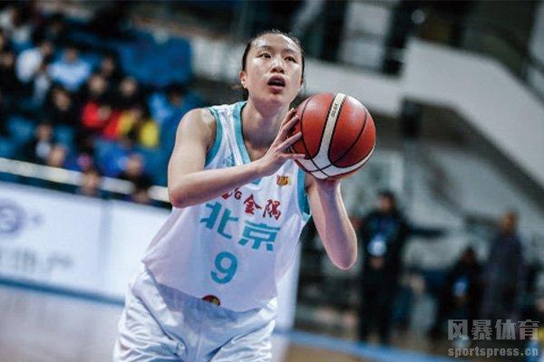 邵婷为北京女篮效力多年