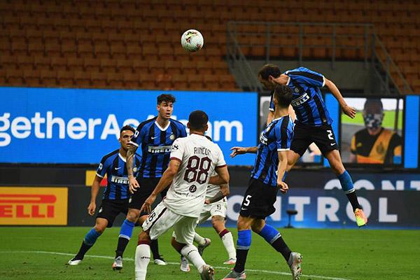 目前国际米兰超越拉齐奥排名意甲第二