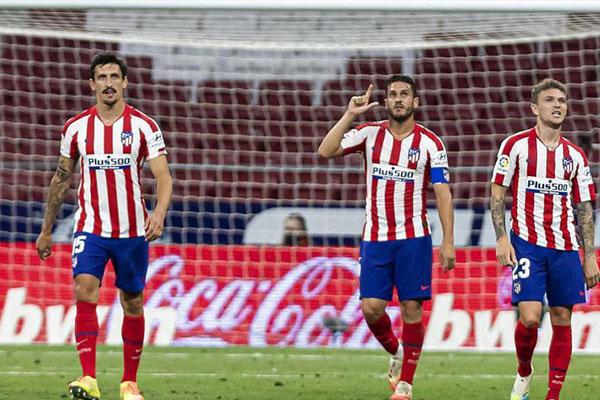 本赛季在西甲球队之中马德里竞技可谓是表现出色