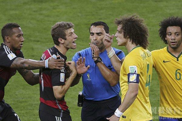 巴西队和德国队有着很深的仇恨
