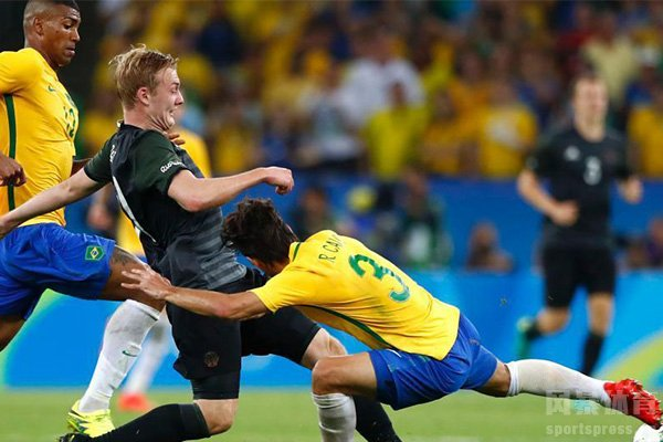 在2014世界杯上德国队7比1击败巴西