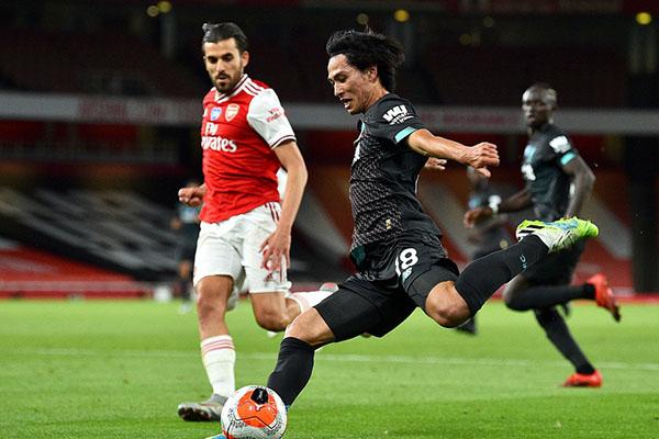 阿森纳2比1击败利物浦 利物浦积分无法破百