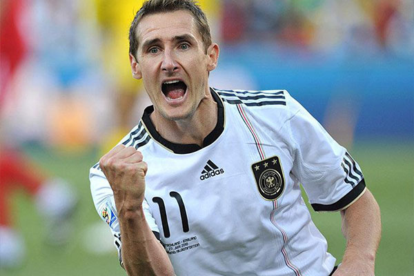 克洛泽世界杯进球有多少?克洛泽