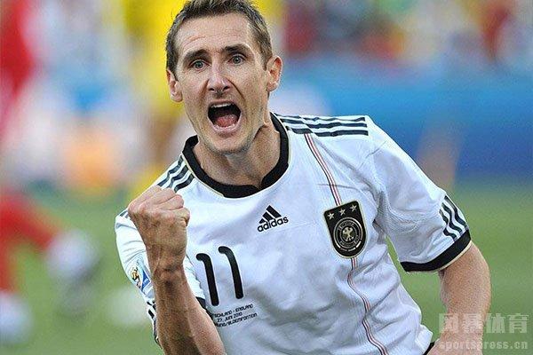 克洛泽在世界杯之中表现十分精彩