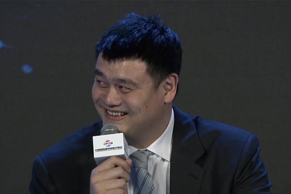姚明谈蔡徐坤是怎么说的?姚明回应蔡徐坤打篮球