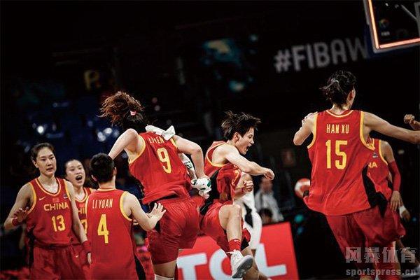 中国女篮队员