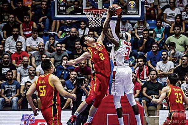 中国男篮历史性的输给了黎巴嫩