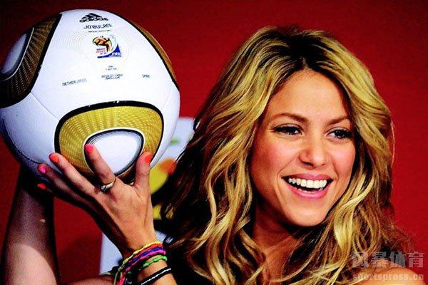 夏奇拉是2010世界杯主题曲的演唱者
