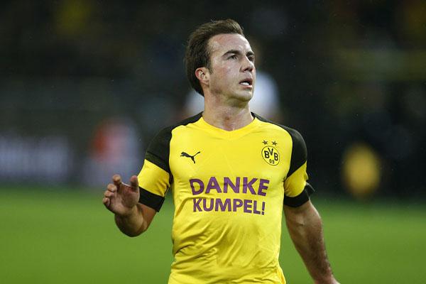 格策被评为德甲让人最失望球员 格策本赛季表现十分糟糕