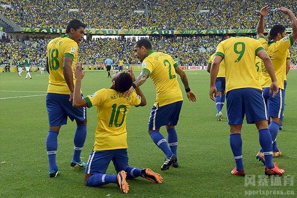 内马尔更是带队帮助巴西队报仇