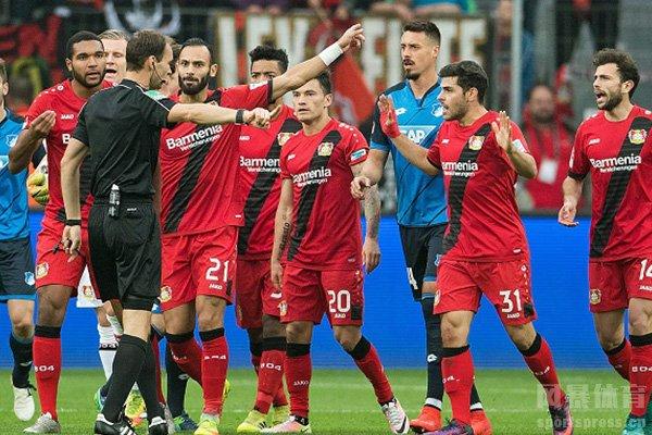 勒沃库森本赛季获得德甲第五,期待下赛季勒沃库森欧联的精彩表现