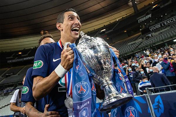 本赛季法国杯决赛,巴黎圣日耳曼1比0击败圣埃蒂安