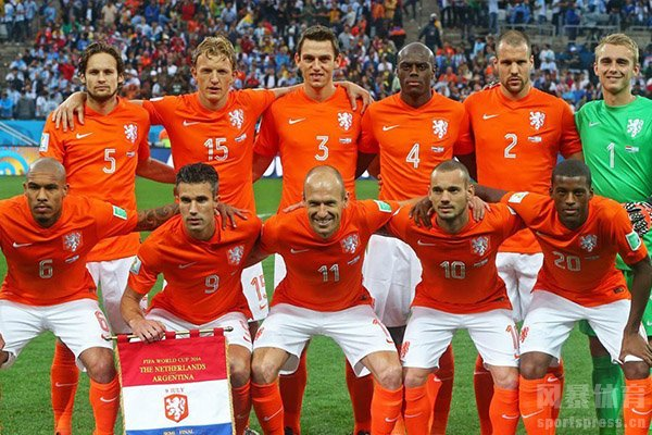 荷兰队在世界舞台上一直有着强大的战力